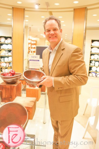 Royal Selangor Arcadia Collection Launch at William Ashley - Bob Borden