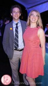 Naomi Snieckus and Matt Baram at Servestock 2013