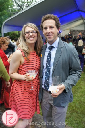 Naomi Snieckus and Matt Baram at Servestock 2013