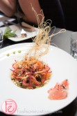 asian crust salad Kultura Summer Menu Tasting