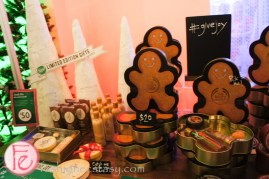 The Body Shop Ginger Sparkle collection