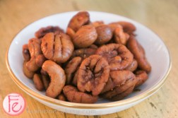 smoked bar nuts - espelette pepper and honey