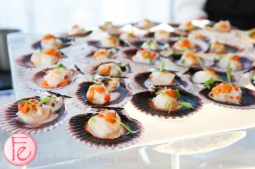 DINE Magazine Launch Party 2013 - Digby bay scallop ceviche
