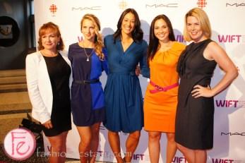 Toronto WIFT-T TIFF Party - Andi Petrillo, Brenda Irving, Carly Agro, Monika Platek, Signa Butler