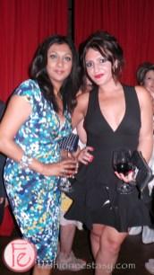 VIP TIFF Party at Crush Wine Bar - Karen Johnson and Shae Invidiata
