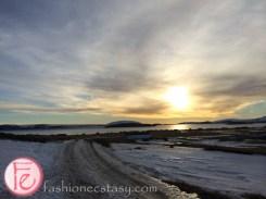 冰島看日落 Iceland sunset