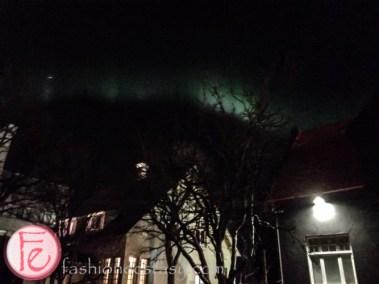 Northern Lights 城市中看北極光