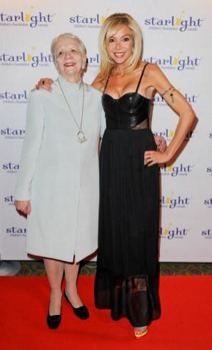 Starlight Gala 2014 Rosemarie Collins Carla Collins