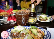 Sope Plazero and Tostadita De Pulpo