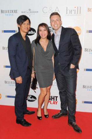 Right to Play Ball 2014 Patrick Tan, Hao Nguyen, Mark Steele