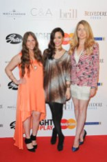Right to Play Ball 2014 Candice Chan, Demi Sacks, Alison Slight