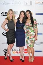 Right to Play Ball 2014 Lisa Forster, Tina Trinkaus, Neeti Singh