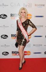 Right to Play Ball 2014 Jacqueline Wojciechowski (Miss Canada Gl