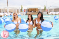 Cabana Pool Bar models in salt water pool