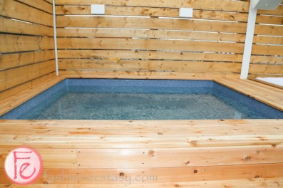 Cabana's new private pool
