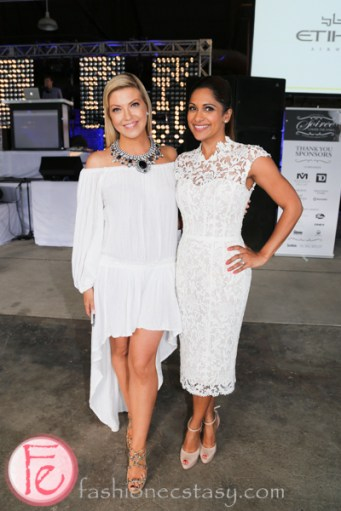 Cheryl Hickey and Sangita Patel