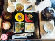 Japanese style breakfast set