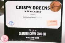 Crispy Greens mac & cheese