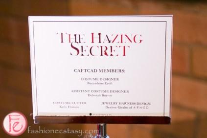 The Hazing Secret costume
