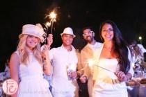 sparklers Diner En Blanc Toronto 2014
