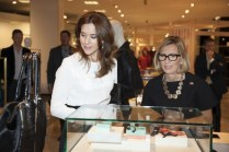 HRH Crown Princess Mary & Liz Rodbell, President, HBC