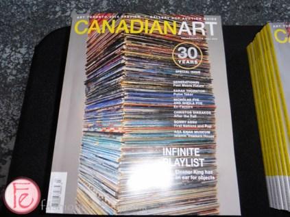 CANADIAN ART'S 30th ANNIVERSARY MAGAZINE LAUNCH