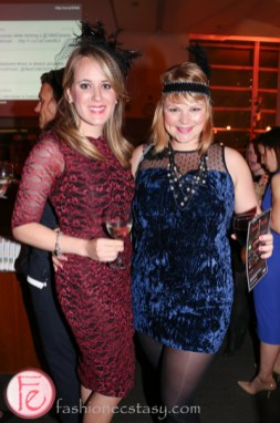 flappers at Hush Hush Bash 2014 Speakeasy library
