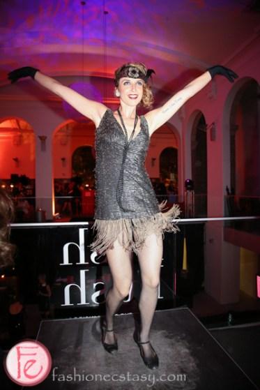 flapper dancing at hush hush bash 2014