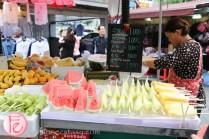 Namdaemun Market street fruits
