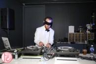 DJ at boom box stanley kubrick at tiff bell lightbox