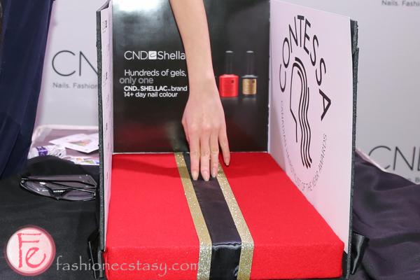 CND mani red carpet at contessa awards gala 2014