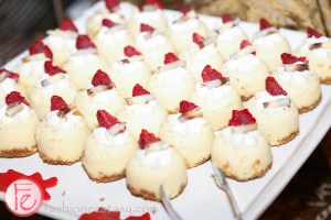 dessert at the national club Crown Royal 75th anniversary limited edition launch