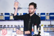 disaronno wears versace limited edition bottle launch bartender