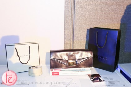 silent auction items at frocktail party 2014
