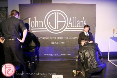 frocktail party 2014 john allan's shoe shine service