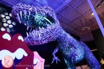 Jessica Gorlicky jessgo the sound of art exhibit dinosaur