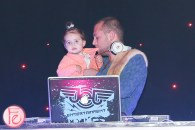 cute girl and dj at jessgo sound of art