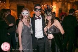 Christina Mogk, lucian matis Le Grand Bal Masquerade 2014 Canadian Fabric Magazine