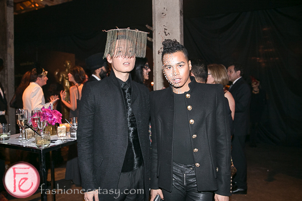 stephen wong and Jay Strut Le Grand Bal Masquerade 2014 Canadian Fabric Magazine