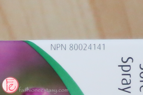 natural health product with NPN number