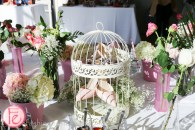 nine west heals in bird cage garden party