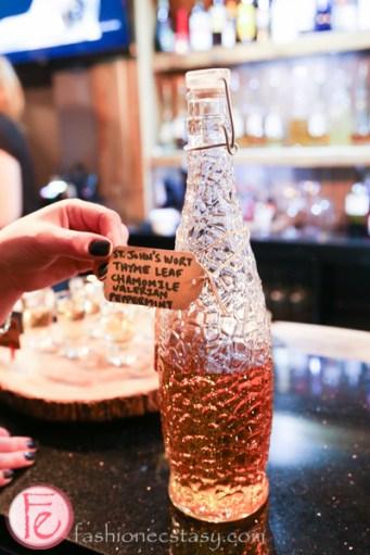 schnitzel hub's house-infused vodka