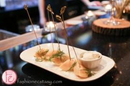 Schnitzel HUB St Claire menu tasting pierogies