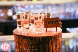 schnitzel hub house-infused candy vodka