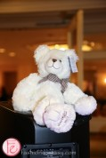 teddy bear at tea and tiaras