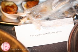 Teddy Bear Affair 2014 Teddy Italia pork braciole, roasted herbe