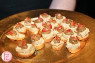 foie gras hors d'oeuvres at clga disco gala 2014