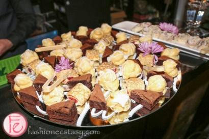 dessert platter at Uniikii boots preview