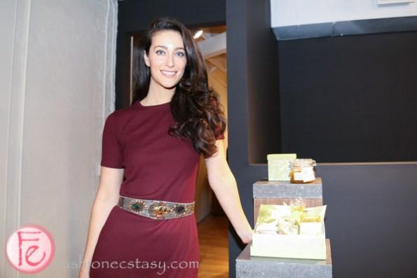 Ariane Laezza of Trinitae all-natural skincare co.