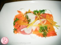 smoked salmon at ffwd toronto star cocktail reception